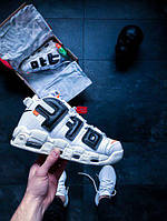 Мужские Кроссовки Off-White™ x Nike Air More Uptempo