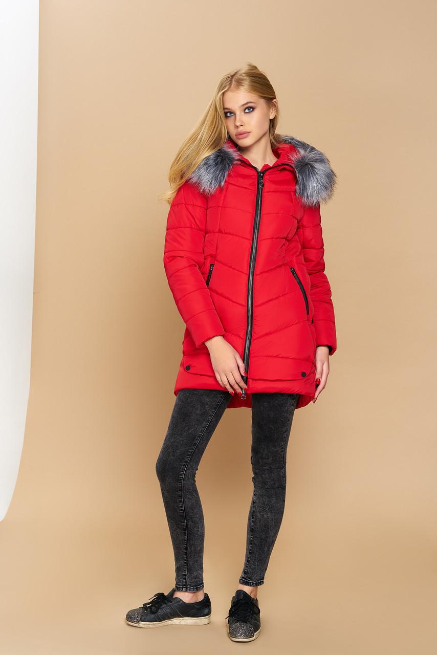 Жіноча зимова куртка-парка від KIVI за доступною ціною від