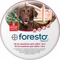 Ошейник от блох и клещей для больших собак Bayer Foresto - 70 см