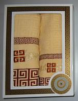 Подарочный набор полотенец баня и лицо
