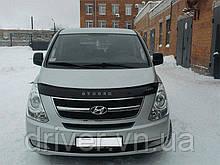 Дефлектор капота (мухобойка) Hyundai H1/Grand Starex 2007-