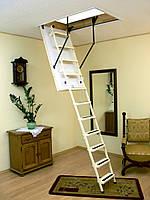 Складная чердачная лестница металлическая