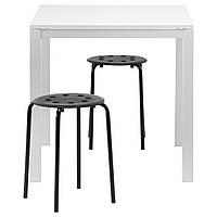 Стол и 2 стула IKEA MELLTORP / MARIUS