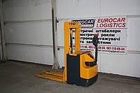 Б/У Штабелер электрический поводковый Jungheinrich  EJD 220 1т 2.4м 2011 батарея