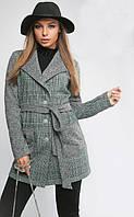 Пальто женское демисезонное Бриджит 519, (3цв), пальто женское из ангоры