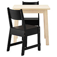 Барный стол и 2 стула IKEA NORRÅKER / NORRÅKER