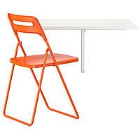 Стол и 1 кресло IKEA NORBERG / NISSE