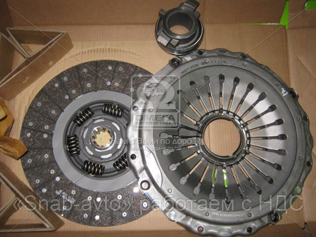 Сцепление (комплект) 400 MM MAN (производство Valeo) (арт. 827358), AJHZX