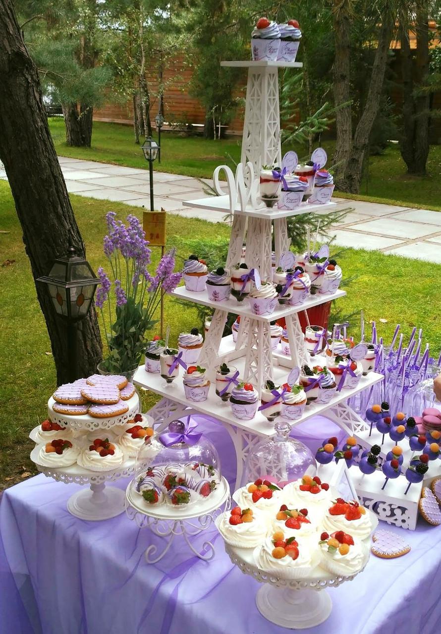Свадебный Candy Bar Кенди бар ЛАВАНДА