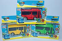Автобус инерционный ТАЙО, двери открываются, в коробке, фото 1