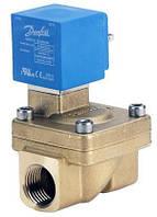 Клапана электромагнитные (с катушкой и разъемом) EV220W Ду 15 NC 230 В, 50/60 Гц, 6 Вт Danfoss