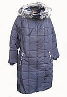 Пальто с мехом 52 , 54 размеры