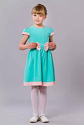 Праздничное детское платье со стразами