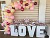 Свадебный Candy Bar Кенди бар LOVE, фото 2