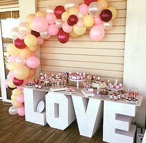 Свадебный Candy Bar Кенди бар LOVE