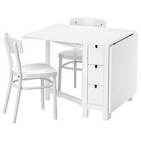 Стол и 2 стула IKEA NORDEN / IDOLF