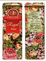 Чай Челтон CHELTON Royal Rose Королевские розы 80 гр. ж.б