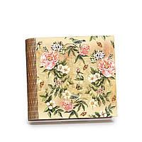 "Шкатулка-книга на магните с 9 отделениями ""Винтажные цветы"""