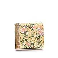 "Шкатулка-книга на магните с 4 отделениями ""Винтажные цветы"""