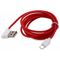 НОСО UPM10 L-образный 1.2 м микро USB к USB данных зарядный кабель Красный