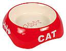 Миска керамическая 0,2 л 13 см Trixie для собак и кошек, фото 2