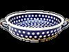 Керамическая форма для выпечки и запекания с ручками 24 Polka Dot