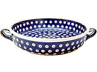 Керамическая форма для выпечки и запекания с ручками 24 Polka Dot, фото 1