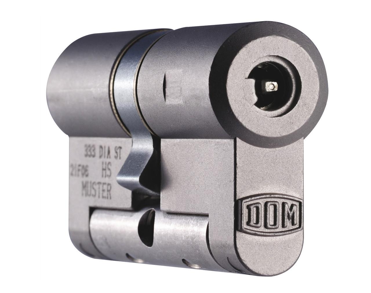 Dom Diamant 134мм 67x67 ключ-ключ никель (Германия)