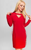 Платье приталенное Милена 3130, (2цв), платье приталенное,красное платье, дропшиппинг