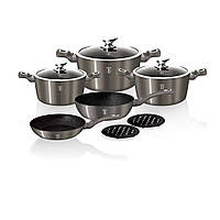 Набор посуды Berlinger Haus Carbon Metallic Line 10 предметов BH-1219N