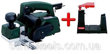 Електрорубанок Metabo Ho 0882 з підставкою для стаціонарного використання