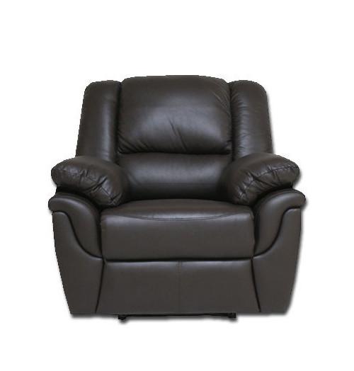 """Кожаное кресло реклайнер с вращением """"ALABAMA"""""""