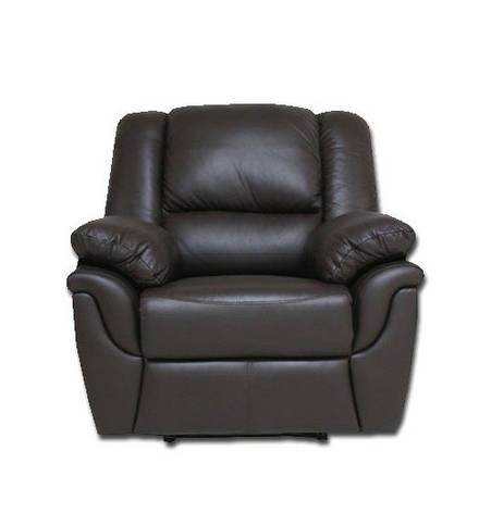 """Кожаное кресло реклайнер с вращением """"ALABAMA"""", фото 2"""