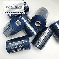 Нитки швейные 40/20 100 ярдов, темно-синего цвет № N-1000-227