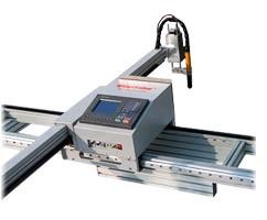 Консольный станок плазменной резки с ЧПУ SteelTailor Valiant 2000x6000. PowerMax 65