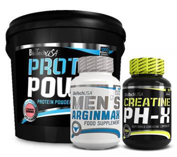Комплект Biotech Men's Arginmax Протеїн та Креатин, фото 2