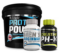 Комплект Biotech Men's Arginmax Протеїн та Креатин