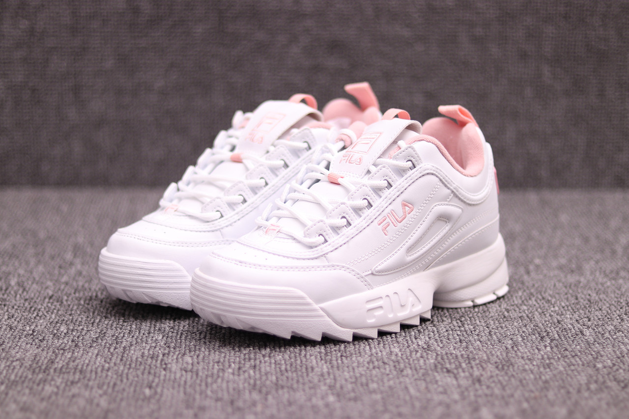 Top Five Fila Disruptor 2 White With Pink
