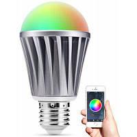 Умные светодиодные лампы E27 Bluetooth 4.0 с Белый
