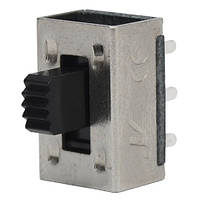 Переключатель движковый KBB45-2P2W ON-ON , 6-и контактный, 0,5A, 250VAC