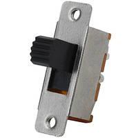 Переключатель движковый KBB40-2P2W ON-ON , 6-и контактный, 0,5A, 250VAC