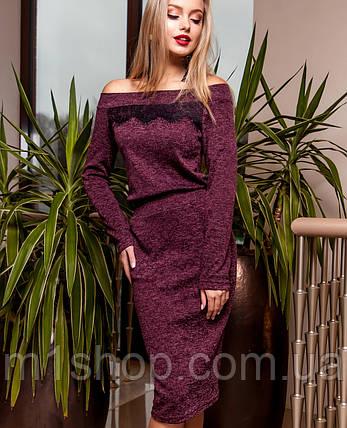 Женское платье по фигуре из ангоры (Моратти jd), фото 2