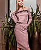 Женское платье по фигуре из ангоры (Моратти jd), фото 5