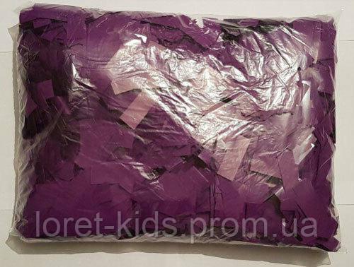Конфетті метафан фіолетовий, 50 грам