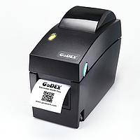 Принтер для печати штрих-кодов Godex DT2 (USB+RS232+Ethernet)