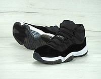 Женские кроссовки Nike Air Jordan 11 Retro, Замш, Кожа, Текстиль