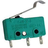 Микропереключатель с лапкой MSW-14 ON-(ON), 3-х контактный, 5A, 125/250VAC