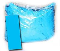 Конфетти метафан голубой, 100 грамм