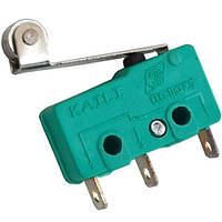 Микропереключатель с роликом MSW-13 ON-(ON) , 3-х контактный, 5A, 125/250VAC