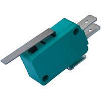 Микропереключатель с лапкой MSW-02 ON-(ON) , 3-х контактный, 5A, 125/250VA